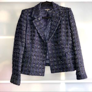 Brooks Brothers Checked Tweed Classic  Jacket